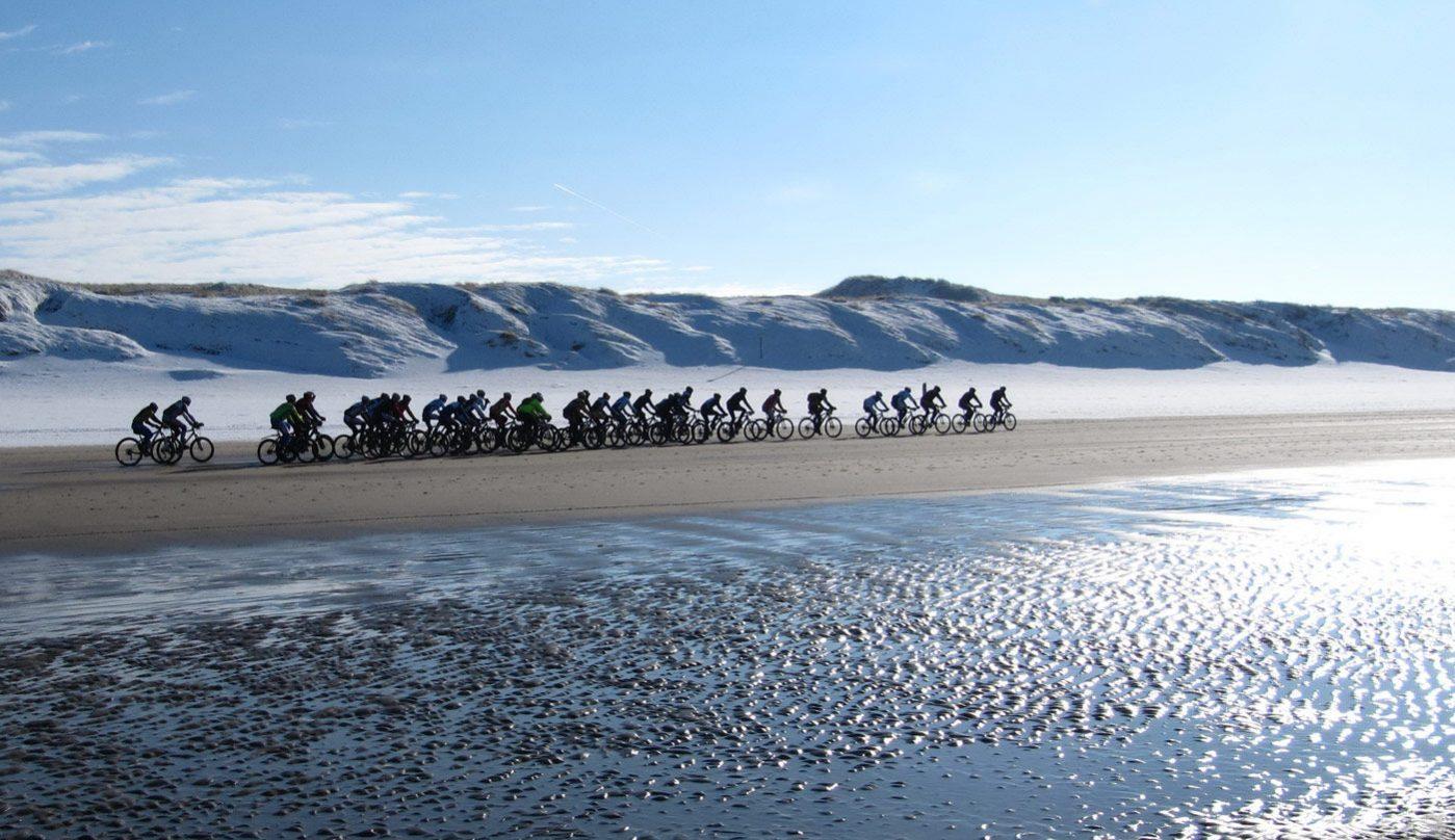 Zweirad-Hanser Koga am Strand